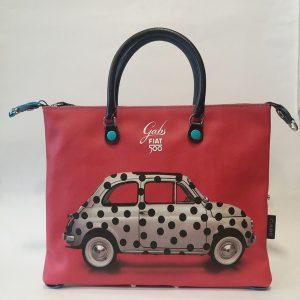 GABS G3 STUDIO M FIAT 500 POIS RED