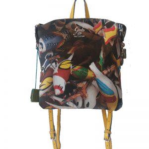 Gabs Luigia S Zaino studio Print + Vela 313 – Uccelli