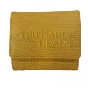 Trussardi Jeans portafoglio D Melly bifold Yellow